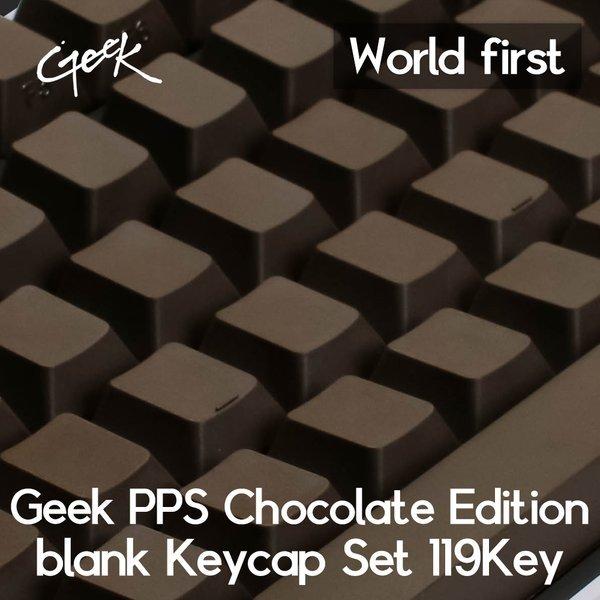 Geek PPS 초코렛 에디션 무각 키캡 셋트 119키(특가) 상품이미지
