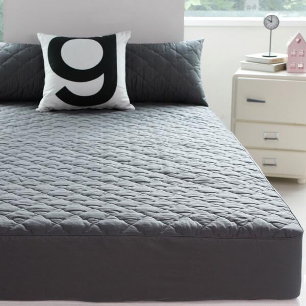 (현대Hmall)바숨 순면누빔 침대 매트리스커버 퀸 150 200 상품이미지