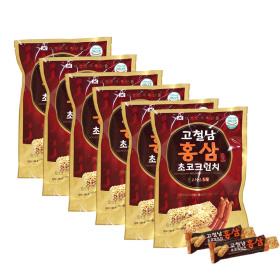 고철남 홍삼 초코크런치 49g x 6봉