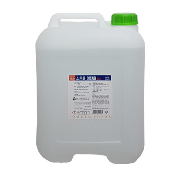 소독용에탄올 18리터 83프로 알콜 소독약 MSDS자료 상품이미지