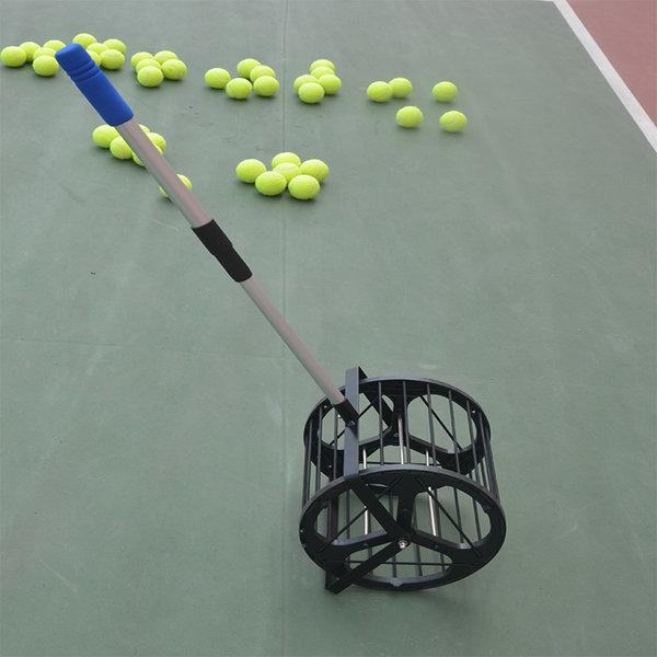 테니스공 롤러형 롤링 수거기 공 회수기 상품이미지