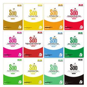 청정미인 에센스 마스크팩 50매 (10종류 X 5매씩)