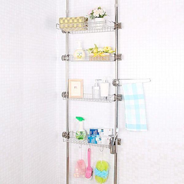 빠띠라인 욕실정리선반 4단 004 44 수납장 욕실용품 상품이미지