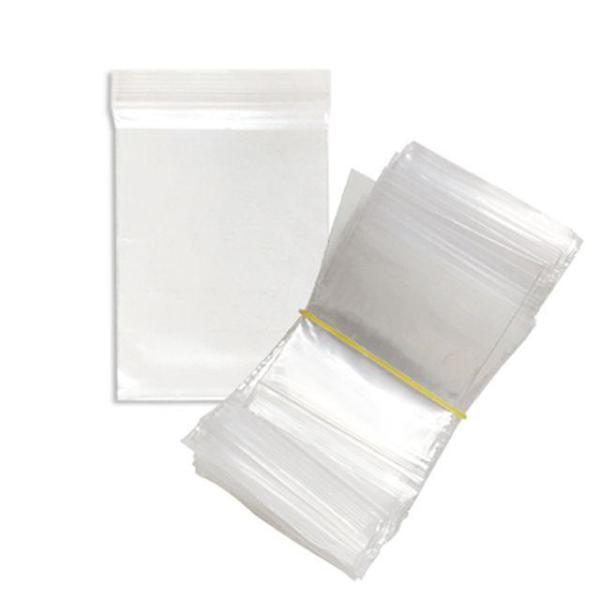 다용도 지퍼백 쟈크백 비닐팩 보관팩 5.5cmx8cm(100 상품이미지