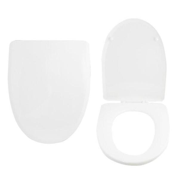 변기커버화이트D(특대) 변기커버 대변기 뚜껑 덮개 상품이미지