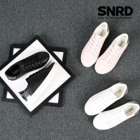SNRD 여성스니커즈 키높이 여자신발 슬립온 SN195