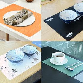 위생적인 실리콘 식탁매트/테이블매트/주방용품