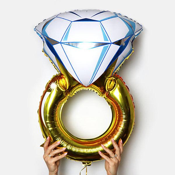 다이아몬드반지 은박풍선 브라이덜샤워 셀프웨딩 상품이미지