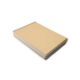 A4크로키북/양면무지/10권 /크로키북/스케치북