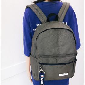 LKBP-021/Plain/Backpack/Backpack/Couple/Bag/Men/Women