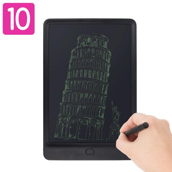 LCD-NOTE10 전자노트 부기보드 패드 낙서장(블랙) 상품이미지