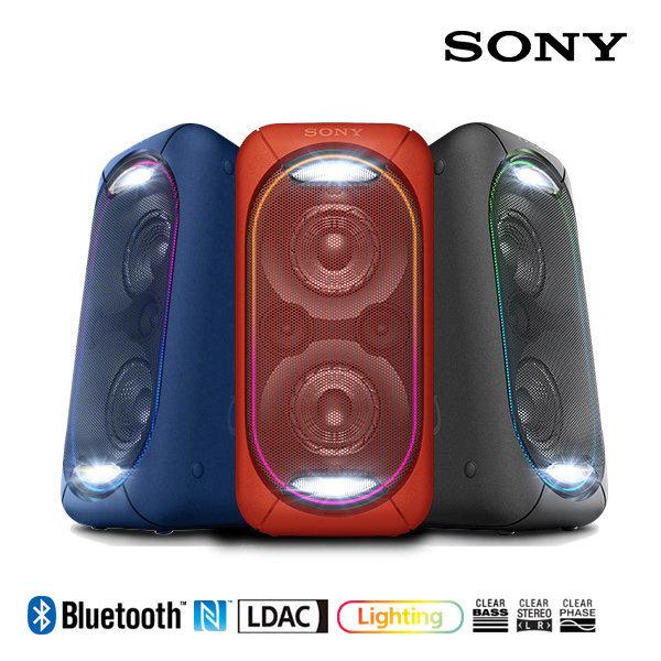 소니 블루투스스피커 GTK-XB60 레드/폭발하는 사운드 상품이미지