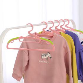 논슬립어린이옷걸이30개(핑크) 유아/아동용