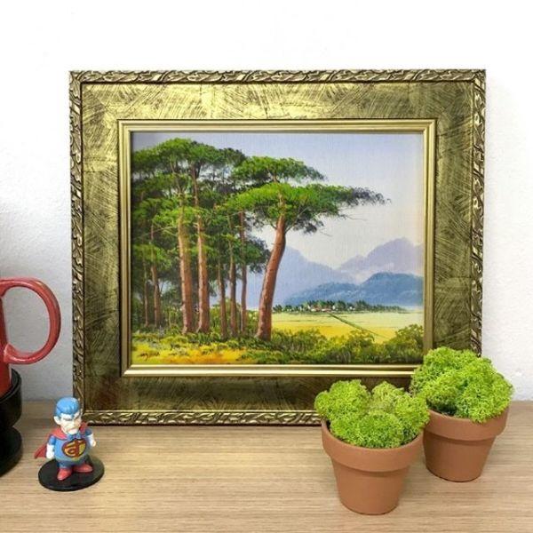 화가그림 유화그림 그림선물 풍경화그림 고향풍경 상품이미지