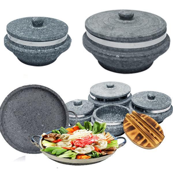 장수 천연 곱돌솥 돌판 돌솥 비빔기 뚝배기 돌솥밥 상품이미지