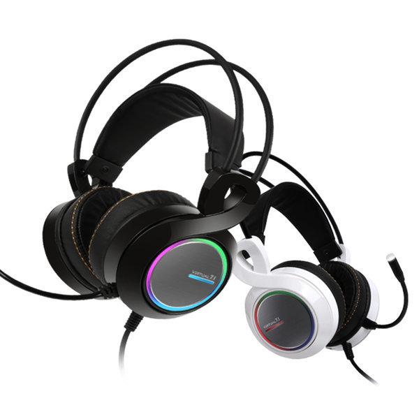 ABKO B770 버추얼 7.1 진동 RGB 게이밍헤드셋 블랙 상품이미지