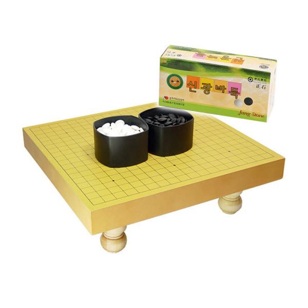 정식사이즈 다리 바둑판 (바둑판+바둑알) 세트 상품이미지