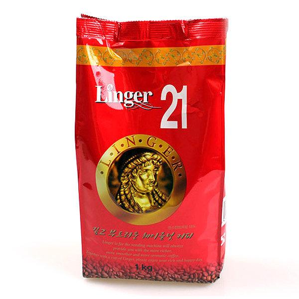 린저 헤이즐넛 1kg/노프림/자판기용커피/커피믹스 상품이미지
