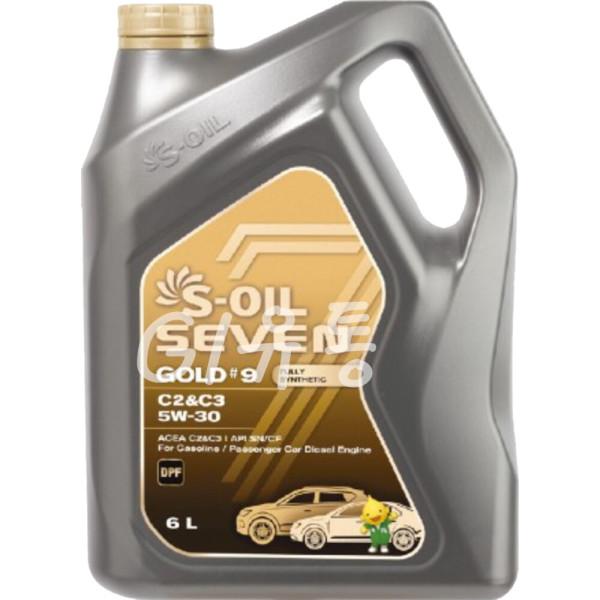 세븐골드 S-OIL 7 Gold 5W30 6L 100% 합성 엔진오일 상품이미지