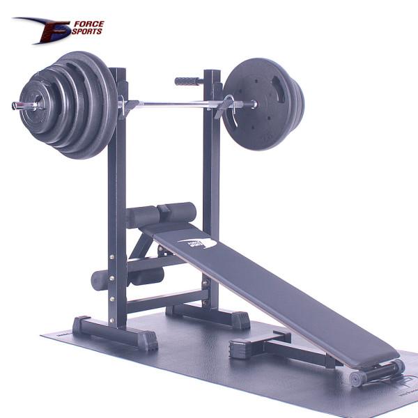 포스스포츠 (국산)포스멀티벤치 블랙원판10~80kg세트 상품이미지