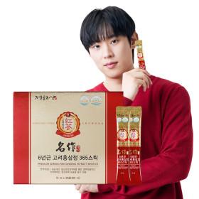 6년근 고려홍삼정 365스틱 명작 /진세노사이드15mg