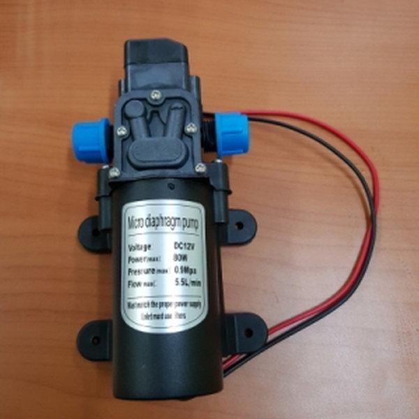 DC12V 80W 다이다이아프램 펌프 워터펌프 세차 캠핑카 상품이미지