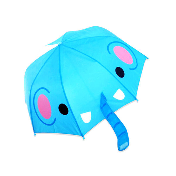 3D 입체아동캐릭터우산 코끼리/어린이우산/아동우산 상품이미지