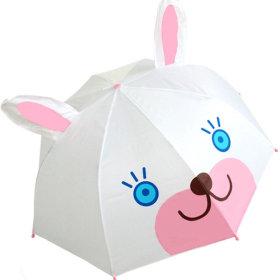 3D 입체아동캐릭터우산 토끼/어린이우산/아동우산