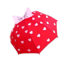 3D 입체아동캐릭터우산 핑크리본/어린이우산/아동우산