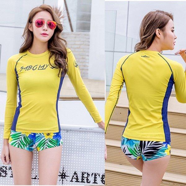 SOB-VY714 여자 래쉬가드 비치웨어 티셔츠 상품이미지