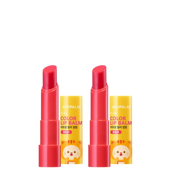 아토팜 키즈 컬러 립밤 3.3gx2개 (키6) 상품이미지