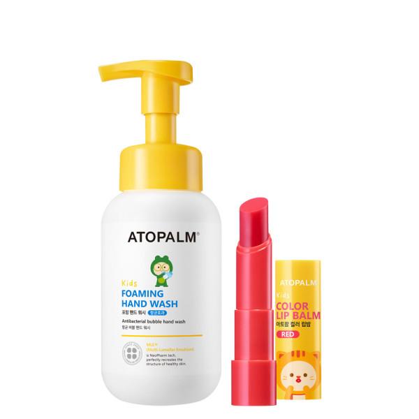 아토팜 키즈 컬러 립밤+포밍 핸드 워시 (키6) 상품이미지