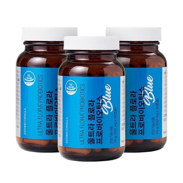 NEW 업그레이드 여에스더 유산균 프로바이오틱스블루 3병 6개월 상품이미지