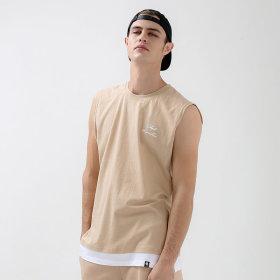 레이어드 트임 민소매 티셔츠 / 나시티 GN-3N08