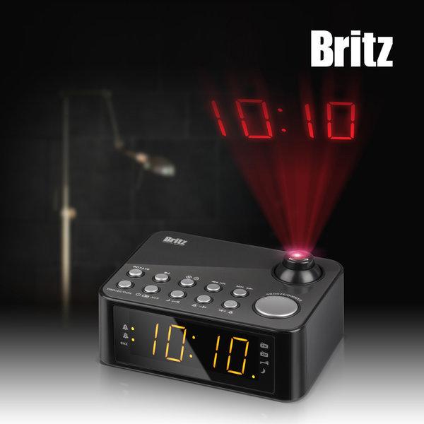 특가 브리츠 BA-GY10 프로젝션 디지털 시계/라디오 상품이미지