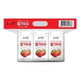 동원소와나무_딸기우유_200MLx3