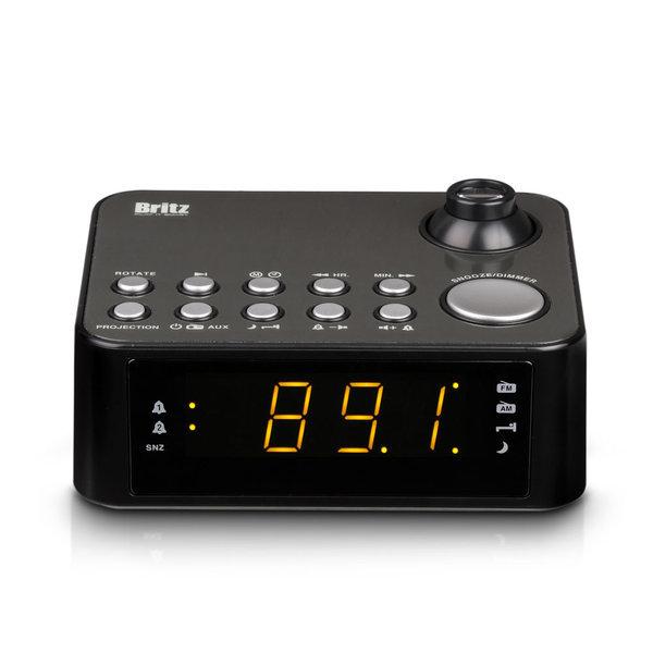 프로젝터 탁상시계 BA-GY10 라디오 알람시계 상품이미지