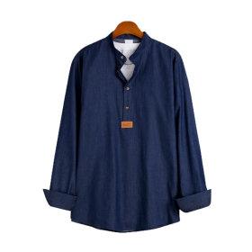 Basic/Denim /Shirts/MSH-536
