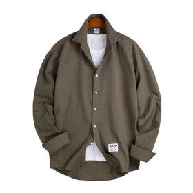 6 Color 오버핏 베이직 셔츠 / 긴팔셔츠 MSH-534