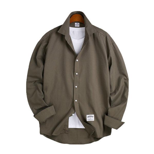 6 Color 오버핏 베이직 셔츠 / 긴팔셔츠 MSH-534 상품이미지