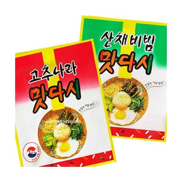 (맛다시90g) 고추나라/산채비빔/양념/고추장/전투식량 상품이미지