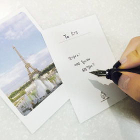 사진엽서 편지지 32P 세트 포스트카드