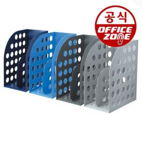 카파맥스 메가화일박스 K06054 군청 서류 책꽂이