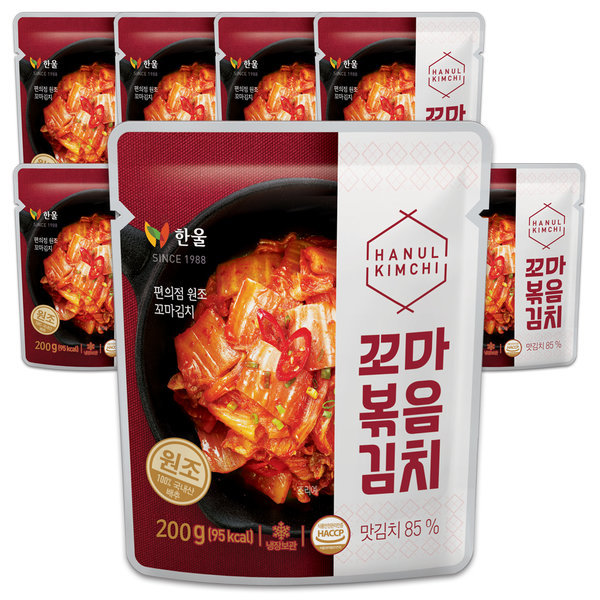 한울 꼬마볶음200gx10봉 소포장김치 맛김치80gx2개증정 상품이미지
