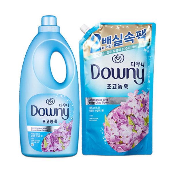 (행사상품)H P G 다우니레몬그라스와달콤한라일락향기획팩 2L+1.6L 상품이미지