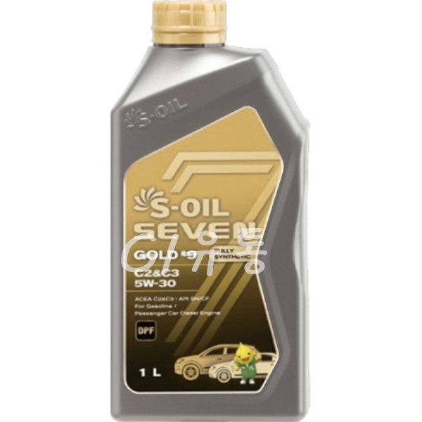 세븐골드 S-OIL 7 Gold 5W30 1L 100% 합성 엔진오일 상품이미지