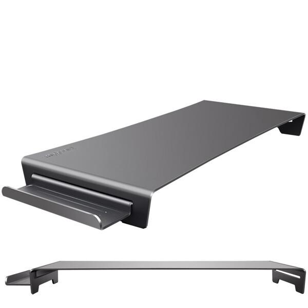 (현대Hmall) 와이어맥스  알루미늄 모니터받침대 마이보드 MD-500SV 모니터선반 상품이미지