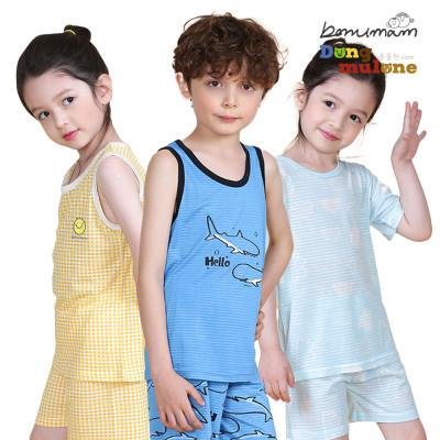 Dongmulone Kids` inner wear/Sleeveless/Homewear