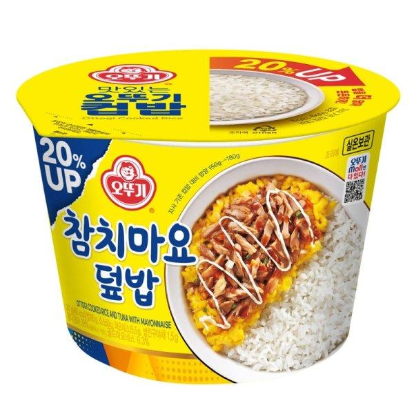 오뚜기 맛있는컵밥참치마요덮밥 217G 상품이미지