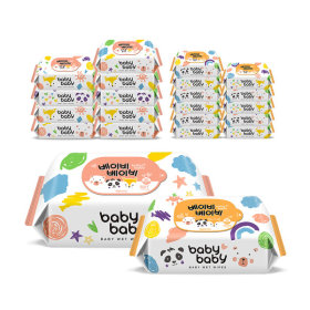 Babybaby/Baby Wet Wipes/Refill Type